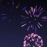 A little rapid-fire tapping can produce some cool fireworks displays