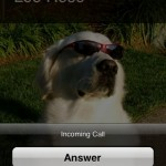 Fake Caller's very fake-looking call screen... it's gonna be fixed in an update, but right now all I can say is DUDE WTF