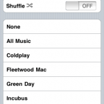 Music playlist integration