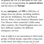 If you're about to die, please don't dial 911 like an idiot
