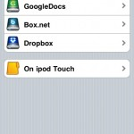 Cloud services I use and can access through my iPod Touch